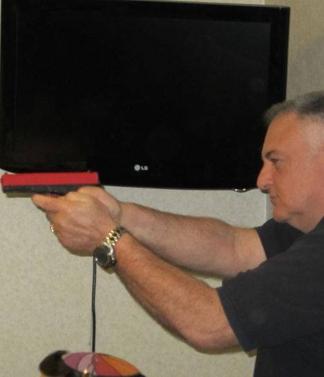 Marc Jens, concealed carry training instructor.
