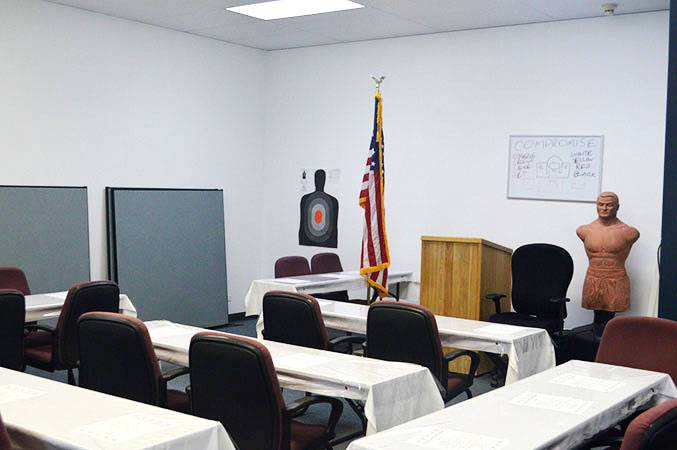 Concealed Carry Training Classroom