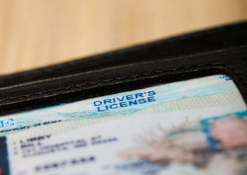 A driver's license is one of the things needed for FFL transfers.